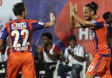 Sanli's brace sinks Mumbai