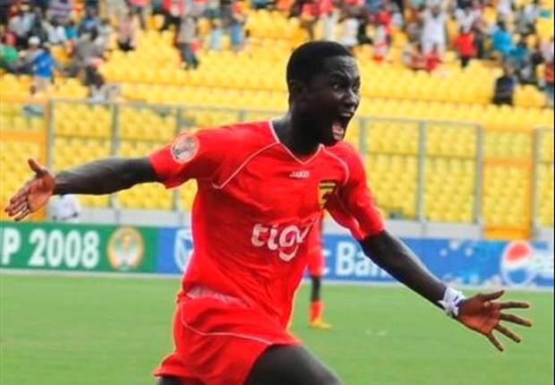 I've a target of winning the goal king prize – Berekum Chelsea's Eric Bekoe