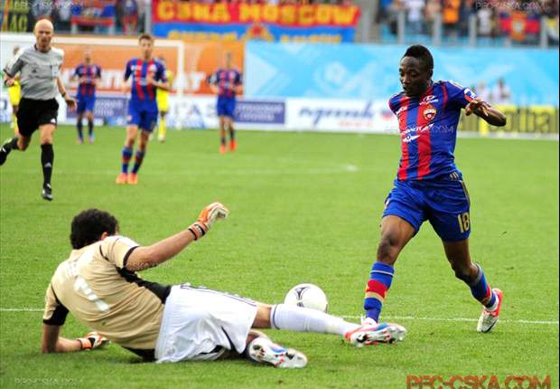 Ahmed Musa happy to score first league goal for CSKA Moscow