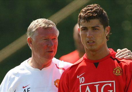 Ronaldo reveals Fergie's hairdryer talk