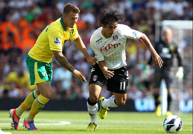 Fulham 5-0 Norwich: Petric marks dream debut with a double as Hughton endures nightmare start