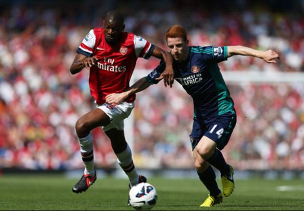 Arsenal 0-0 Sunderland: Defiant Black Cats frustrate new boys Cazorla, Podolski and Giroud