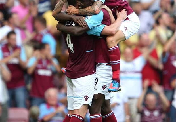 West Ham 1-0 Aston Villa: Nolan strike secures three points for promoted hosts