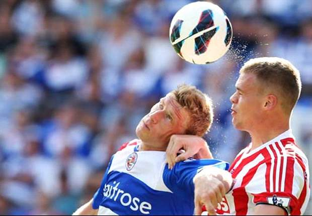 Reading 1-1 Stoke City: Late Le Fondre penalty rescues a point for Royals on Premier League return
