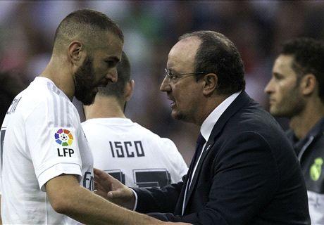Benitez responds to Benzema's outburst