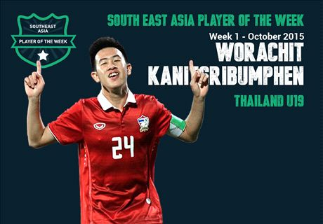 Pemain Terbaik Asia Tenggara Pekan Ini: Worachit Kanitsribumphen