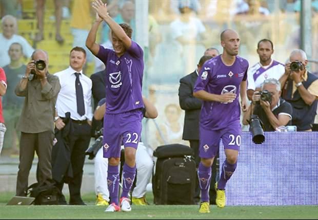 Coppa Italia, 3° turno - Fiorentina e Chievo sul velluto, passano anche Cagliari e Torino. Super Miccoli fa volare il Palermo, genovesi fuori. Avanti anche il Siena