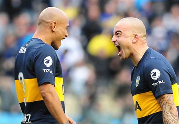 Boca Juniors 3-1 All Boys: Guillermo Burdisso y Santiago Silva dan el triunfo al 'Xeneize'