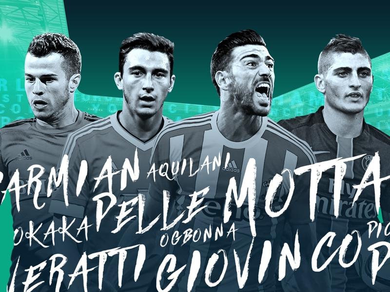 #GoalItalians 2016: Pellè, Okaka, Giovinco, settimana di grandi firme