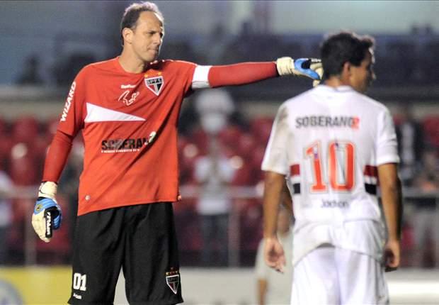 Rogério Ceni lamenta revés diante do Galo