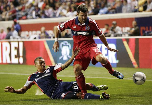 Chicago Fire 2-1 New England Revolution: MacDonald's first MLS goal is a winner