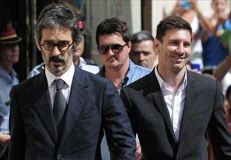 Messi y su padre, definitivamente libres
