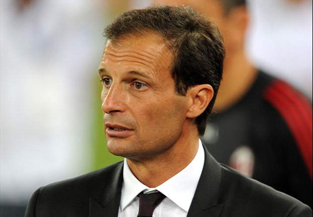 AC Milan boss Allegri targets top-three Serie A finish