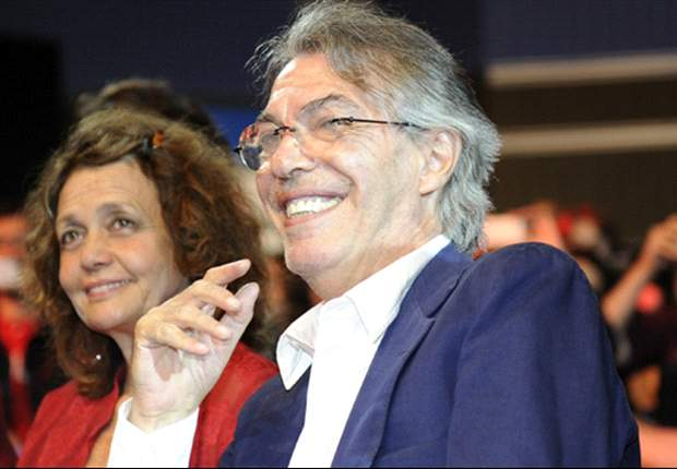 I'm happy for Pazzini, says Moratti