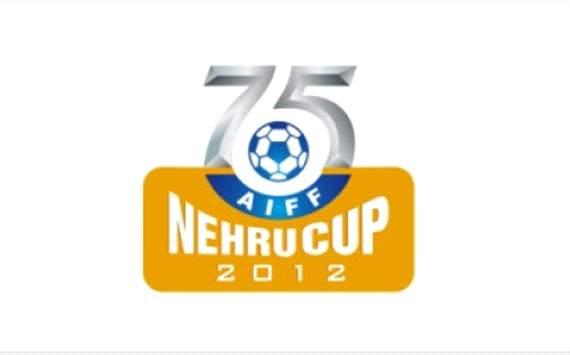 AIFF Nehru Cup 2012 logo