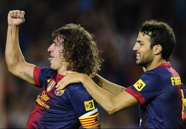 TEAM NEWS: Puyol returns to marshall Barcelona defence at Levante