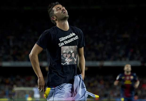 David Villa praises Barcelona fans after goalscoring return from injury