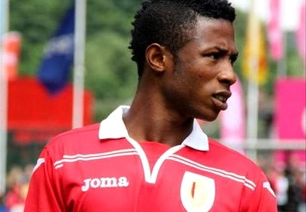 Standard Liege's Imoh Ezekiel regrets the red card against Gent