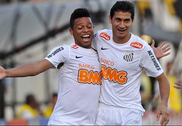 Santos 3 x 2 Corinthians: No 100º jogo de Muricy, vitória do Peixe com gosto de revanche