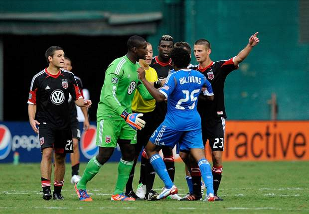 D.C. United 1-1 Philadelphia Union: Three sent off in late mayhem
