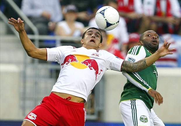 New York Red Bulls 3-2 Portland Timbers: Tim Cahill scores first MLS goal