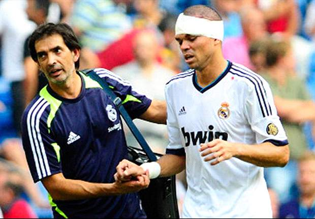 Pepe ruled out of Getafe clash
