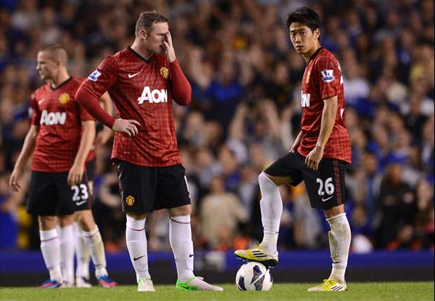 Everton 1-0 Manchester United: Rampant Fellaini ruins Kagawa and Van Persie debuts