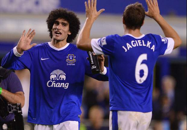 Fellaini's Everton commitment cannot be questioned, claims Jagielka