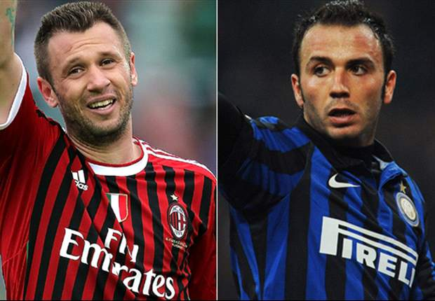 Cassano is joining Inter because AC Milan have no chance of success