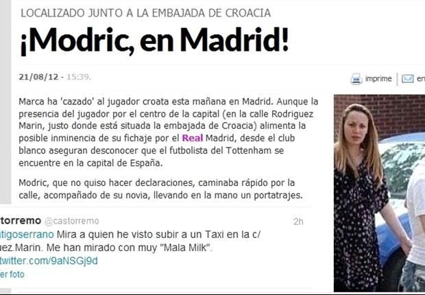 Marca pide disculpas tras su grave error en la noticia de Luka Modric