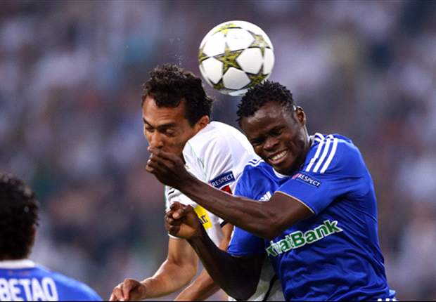 Taye Taiwo has hit it off greatly in Ukraine with Dynamo Kiev after joining on loan from AC Milan