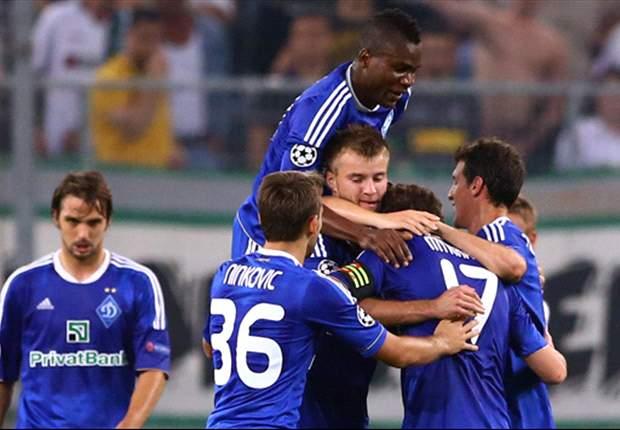 Dynamo Kyiv Jejakkan Satu Kaki Di Babak Utama Liga Champions