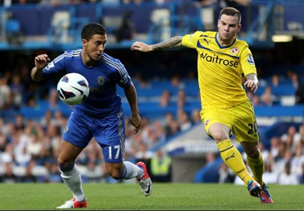FC Chelsea gewinnt durch ein Abseitstor gegen Reading