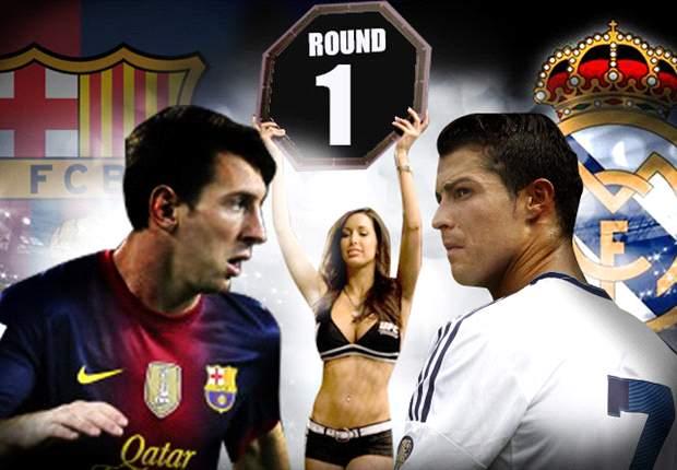 Barcelona - Real Madrid: Primer asalto de la temporada entre Leo Messi y Cristiano Ronaldo