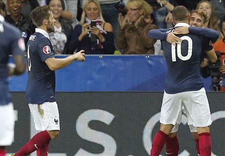 France 4-0 Armenia: Benzema double
