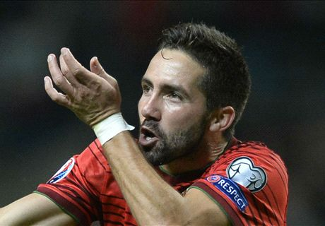 Moutinho seals victory for Portugal