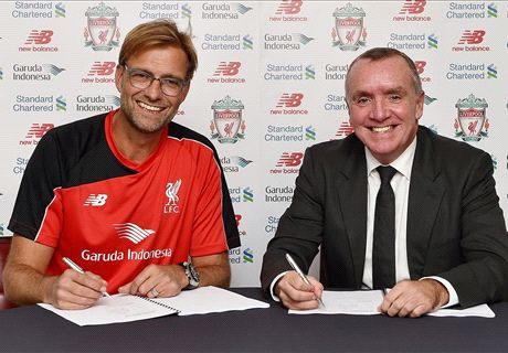OFFICIAL: Klopp joins Liverpool