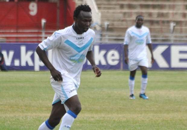 Thika United striker Kepha Aswani