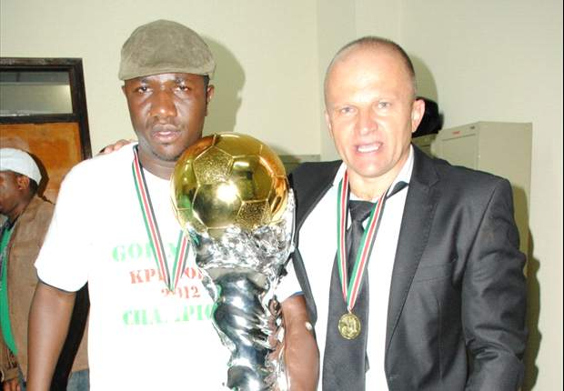 Gor Mahia yet to reach agreement with sponsors Tuzo on Logarusic contract
