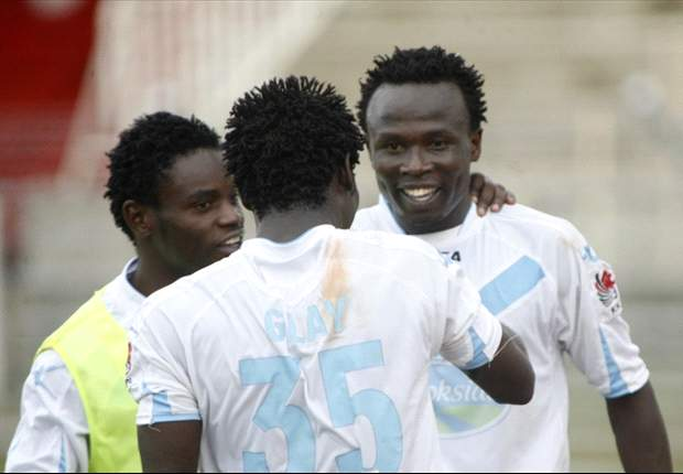 Major boost for Thika United as top scorer Kepha Aswani extends two year contract