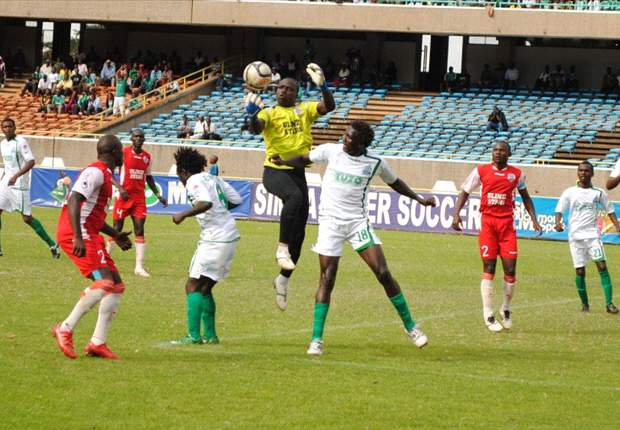 Ulinzi Stars goalkeeper James Saruni vows to fight for starting in role in 2013 season