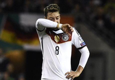 Did Ozil repeat his heroics for Germany?