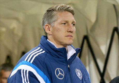 Injury blow for Schweinsteiger