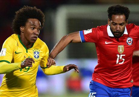 AO VIVO: Chile 0 x 0 Brasil