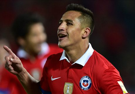 RATINGS: Alexis stars for Chile