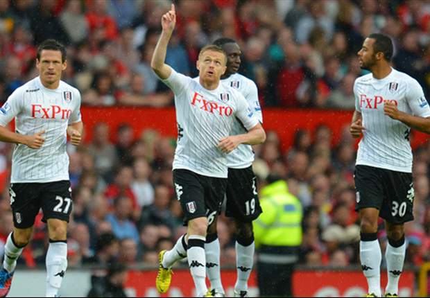 Irish Abroad: Damien Duff nets against Manchester United