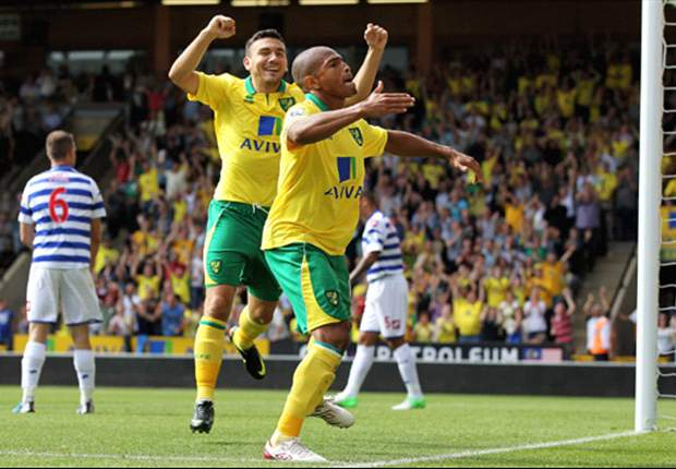 Norwich 1-1 QPR: Jackson & Zamora on target as spoils shared at Carrow Road
