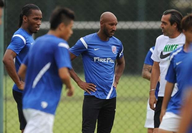 Drogba e Anelka devem permanecer no clube chinês Shanghai Shenhua