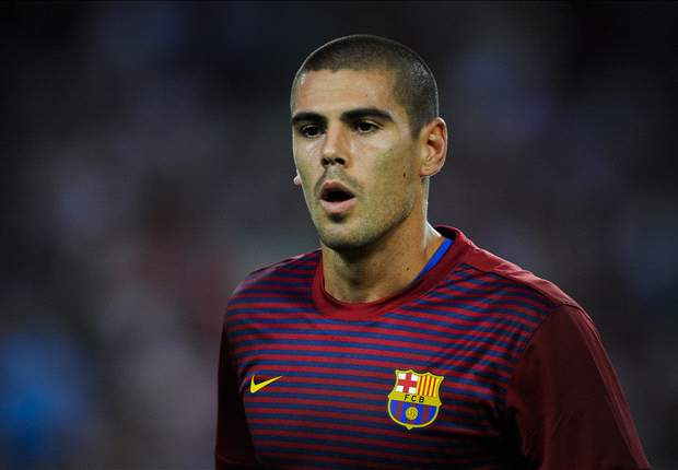 Vilanova retains full faith in Valdes ahead of Osasuna clash