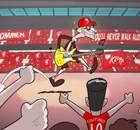 Confira os melhores cartoons da Goal!